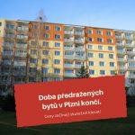 Ceny bytů v Plzni začínají klesat!